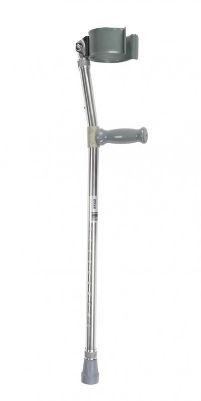 Bariatric Steel Forearm Crutch