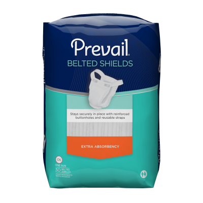 Prevail® Belted Shield – Extra Absorbency
