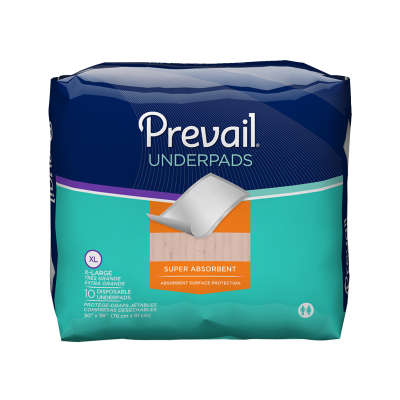 Prevail® Premium Super Absorbent Underpad – X-Large Plu