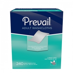 Prevail® 240ct Adult Washcloths