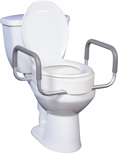 Premium-Raised-Toilet-Seat-with-Removable-Arms