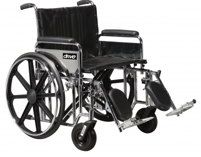 Bariatric Sentra Extra-Heavy-Duty Wheelchair