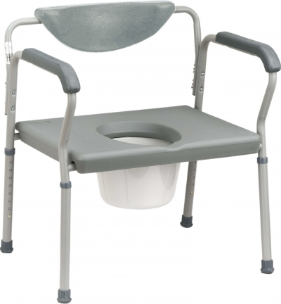 Deluxe Bariatric Commode