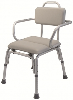 Lumex Padded Bath Chair with Arms