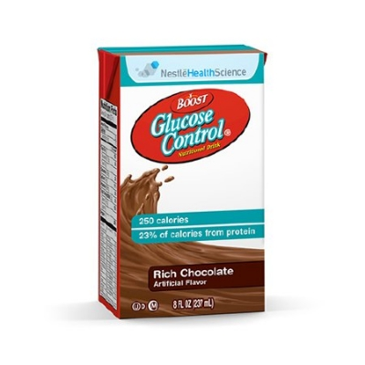 Oral Supplement Boost Glucose Control® Rich Chocolate