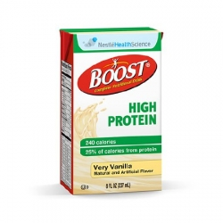 Oral Supplement Boost® High Protein Very Vanilla 8 oz. Carton Ready to Use
