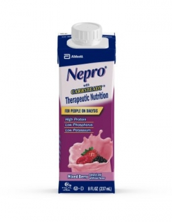 Oral Supplement Nepro® Mixed Berry 8 oz. Recloseable Tetra Carton Ready to Use