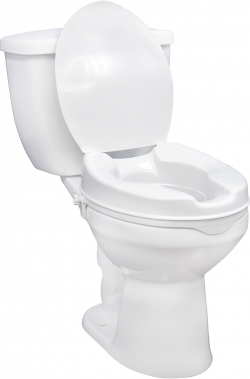Raised Toilet Seat with/without Lid