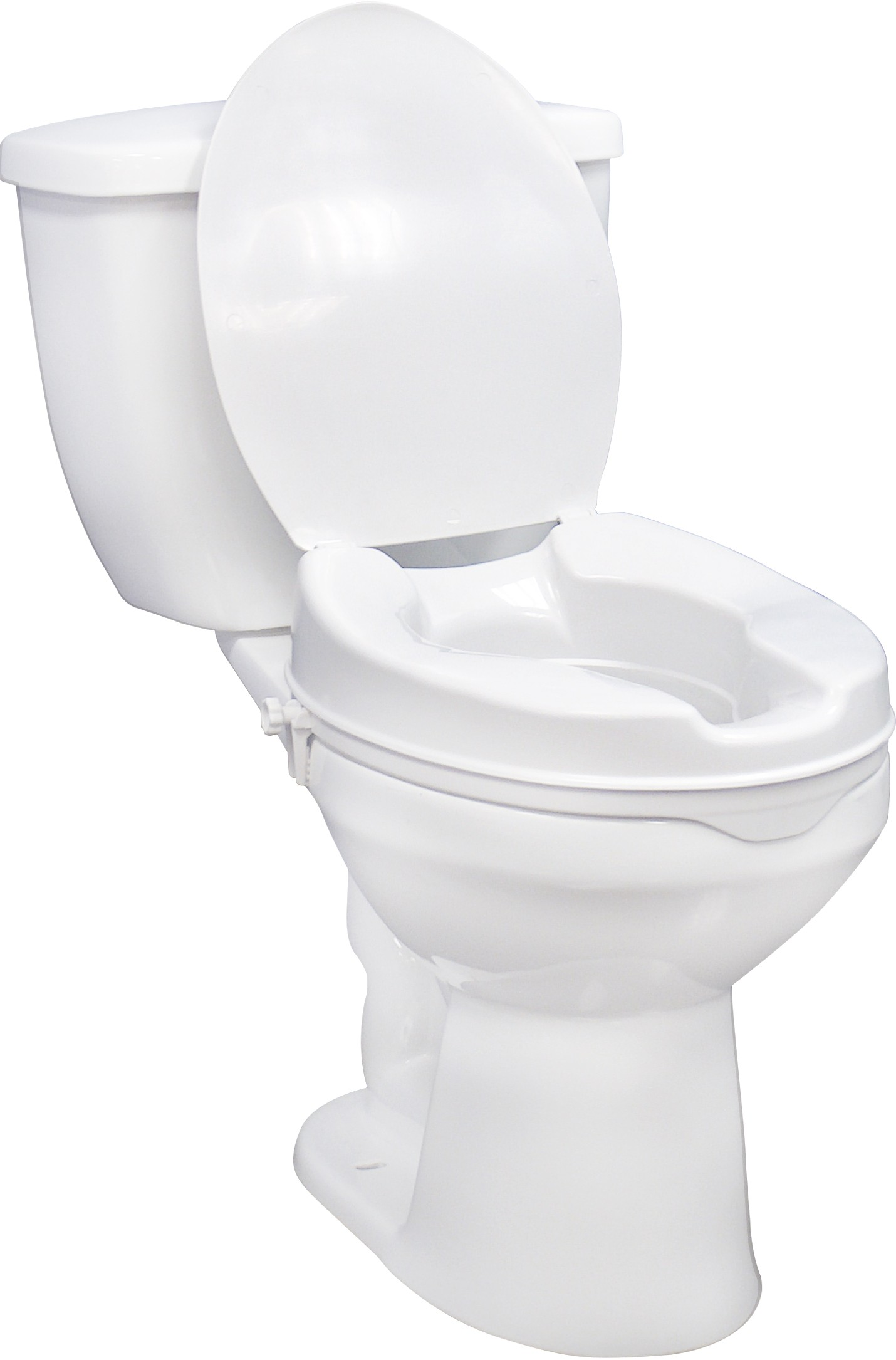 Raised Toilet Seat with Lid – National Medical Supply