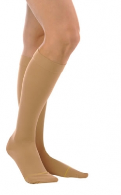 Sheer Knee High Closed Toe Hosier