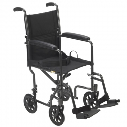 Steel Transport Chair